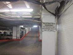 The underground police parking garage where Jack Ruby shot Oswald