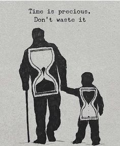 Positive Quotes : Time is precious dont waste it. # Parenting drawing Positive Quotes : Time is precious dont waste it. - Hall Of Quotes Reality Quotes, Success Quotes, Wisdom Quotes, Quotes To Live By, Quotes Quotes, Happy Quotes, Family Quotes And Sayings, Timing Quotes, Tattoo Quotes