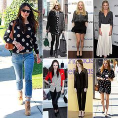 why does everyone were polka dots