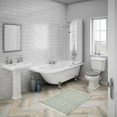 Shop the Appleby RH Traditional Bathroom Suite, perfect for providing a period look in any home.