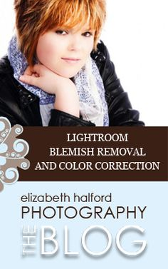 Blemish removal and color correction in Lightroom
