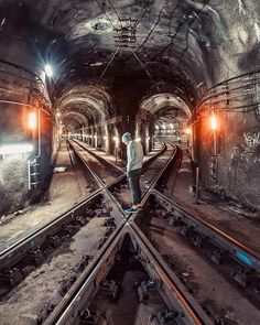 New York, New York. Subway. (obviously. ;) )
