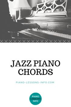 Jazz Piano Lessons Ready move on from major and minor chords into more complex jazz piano chords? This page will go through some of the most common jazz chords for piano. Beginner Piano Music, Beginner Piano Lessons, Learn Piano Beginner, Free Piano Lessons, Music Lessons For Kids, Music Basics, Harmony Music, Piano Scales, Easy Piano