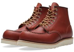 Red Wing heritage work boots
