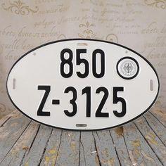 German, license plate numbers,  plate of registration numbers, plaque, blackboard,