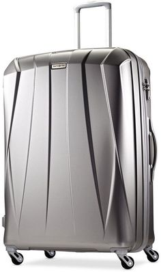 """""""Samsonite Vibratta 29"""" Hardside Spinner Suitcase.  These super lite suitcases are really the way to go these days.  With all the weight restrictions.  They are super light, hold a ton of stuff, and travel really well.  We have had ours for about 8 years now.  LOVE!"""