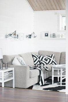 IKEA love in sofa!