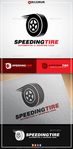Speeding Tyre Logo Template — Vector EPS #tires #moving • Available here → https://graphicriver.net/item/speeding-tyre-logo-template/20224839?ref=pxcr