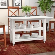 Red Barrel Studio Cherina Extendable Dining Table | Wayfair
