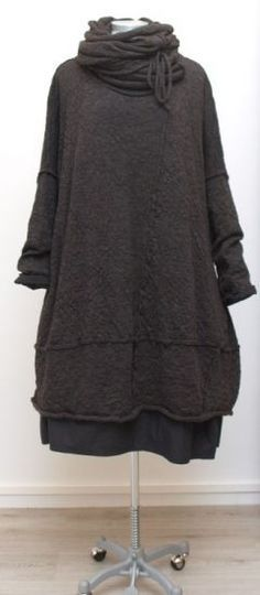 barbara speer - Ballonkleid gekochte Wolle alpaka - Winter 2015