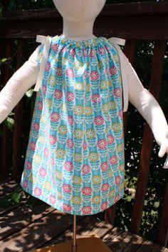 Pillowcase Dress Tutorial from Sew Like My Mom