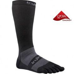 1ef81da5607 Injinji Injinji Performance 2.0 Compression OTC - zwart Lower Leg Muscles