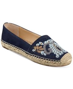 Ivanka Trump Violette Embellished Espadrille Flats $87.50 Add vintage appeal to your daytime look with the bohemian stylings of Ivanka Trump's Violette espadrilles featuring colorful embroidery details.