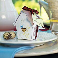 Love Bird House Favor Box