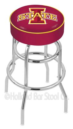 Iowa State Cyclones Bar Stool