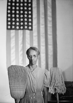 Gordon Parks, America Gothic