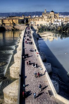 Bridge. Cordoba. Puente, Barrio de Miraflores, Andaluzia ,Spain | Flickr - Photo Sharing!
