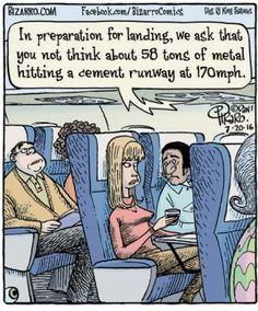 Bizarro by Dan Piraro Far Side Cartoons, Funny Cartoons, Funny Jokes, Hilarious, Funny Insults, Dad Jokes, Bizarro Comic, Airline Humor, Flight Attendant Humor
