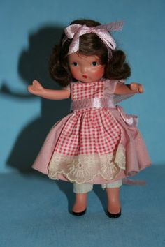 My Mom had these and I loved them. Bought my first one at age 12.  Nancy Ann Storybook Dolls