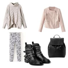"""""""Untitled #190"""" by stefaniacristiana on Polyvore featuring MANGO"""