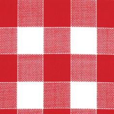 GLAMPING Barn RED Checkered Picnic Glamour CAMPING quilt fabric Mary Jane retro Moda caravan camper 1 yard 11607-17