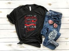 Items similar to Funny Makeup lovers Tshirt - I like my Eyelashes as black as my heart and as long as the list of people I want to punch in the face on Etsy Denim, Trending Outfits, Makeup, Jackets, Etsy, Vintage, Fashion, Make Up, Down Jackets