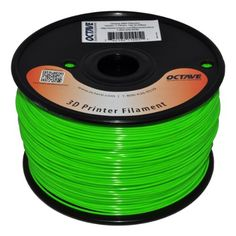 Octave 1.75mm Green ABS Filament 1kg (2.2lbs) Spool for Reprap, MakerBot, Afinia and UP! 3D Printer Octave https://www.amazon.com/Octave-1-75mm-Filament-MakerBot-Printer/dp/B007X076NO/ref=as_sl_pc_ss_til?tag=rosrush-20&linkCode=w01&linkId=2TV3DVYRQFZ2HXXY&creativeASIN=B007X076NO