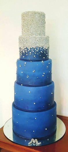 #stars #blue #birthday cake