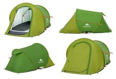 Quechua 2 Seconds Pop Up Instant 1 Men Easy Tent Camping Hiking Festival Shelter