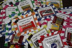 Parent Volunteer Gift, Simple and sweet! Pu them together ahead of time and have them ready to go for the year.