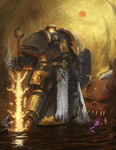 Trials of Draigo - The reforged... Titansword? by Michael-Galefire.deviantart.com on @deviantART