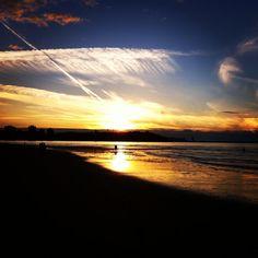 Mañana sale el sol... #Gijón