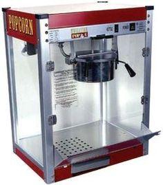 850W Commercial Popcorn Maker Pop Corn Machine Popper Set w// Scoop 8 oz 120V