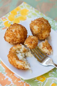 Arancini With Gorgonzola – Italian Food Forever