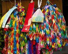 Buddhist Paper Prayer Cranes