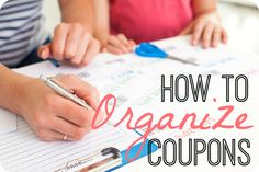 Looking for a new way to organize your coupons? Try one of these 8 different coupon organization methods!