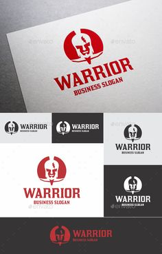 Warrior — Vector EPS #cicatrix #video game • Available here → https://graphicriver.net/item/warrior/18070455?ref=pxcr