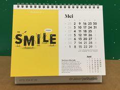 Wihabo Bureaukalender 2016 #HP #SmartStream #Mosaic #2016ivegotthepower #HPIndigo #packaging #customization #unique #collectorsitem