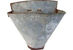 72 Best Zinc Images Homes Vintage Industrial Bathtub