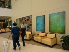 Hospital installs 800 art pieces to benefit patients, families