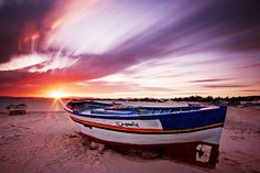 Fishing Boat at Sunset - Hammamet Tunisia by BOCP Photography Cheat Sheets, Photography Basics, Types Of Photography, Photography Lessons, Photography Business, Nature Photography, Abstract Photography, Photography Tutorials, Photography Ideas