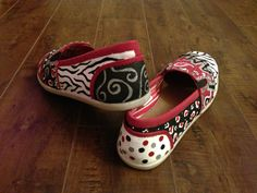 Spirit shoes I painted