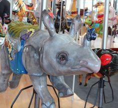 Krohn Conservatory Rhino from Carol Ann's Carousel