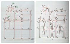 Konstrukcja siatki bluzki podstawowej w godzinę. Niemożliwe? A jednak! – Project – Sew Diagram, Chart, Sewing, Dressmaking, Couture, Stitching, Sew, Costura, Needlework