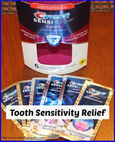 """""""Taking care of sensitive teeth to avoid pain is not fun. Crest understands this and now there is an aide"""" #SensiStop"""