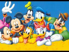 Vintage Mickey Mouse Wallpaper GreatKidsbedrooms The Children Walt Disney Figuren Characters