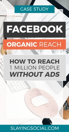 Facebook Organic Reach Case Study: How to Reach over 1 Million People Without Ad Spend - Slaying Social...Social Media Marketing | SMM |  Facebook Marketing | Facebook Growth #socialmediamarketing #socialmedia #SMM #facebookmarketing #facebookgrowth Using Facebook For Business, How To Use Facebook, Like Facebook, Online Business, Facebook Likes, Facebook Marketing Strategy, Marketing Quotes, Content Marketing, Social Media Marketing