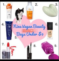 9 Vegan Beauty Products $9 and Under