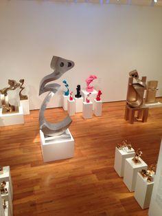 Parviz Tanavoli museum show at the Davis museum Boston
