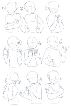 art reference poses A bunch of poses after the previous arms and torso tutorials! I didnt put any expressions in this since they can vary, and also its a more focused on drawing the characters body from the waist up. Drawing Body Poses, Body Base Drawing, Body Drawing Tutorial, Body Tutorial, Anatomy Tutorial, Female Drawing Base, Female Art, Posture Drawing, Drawing Body Proportions
